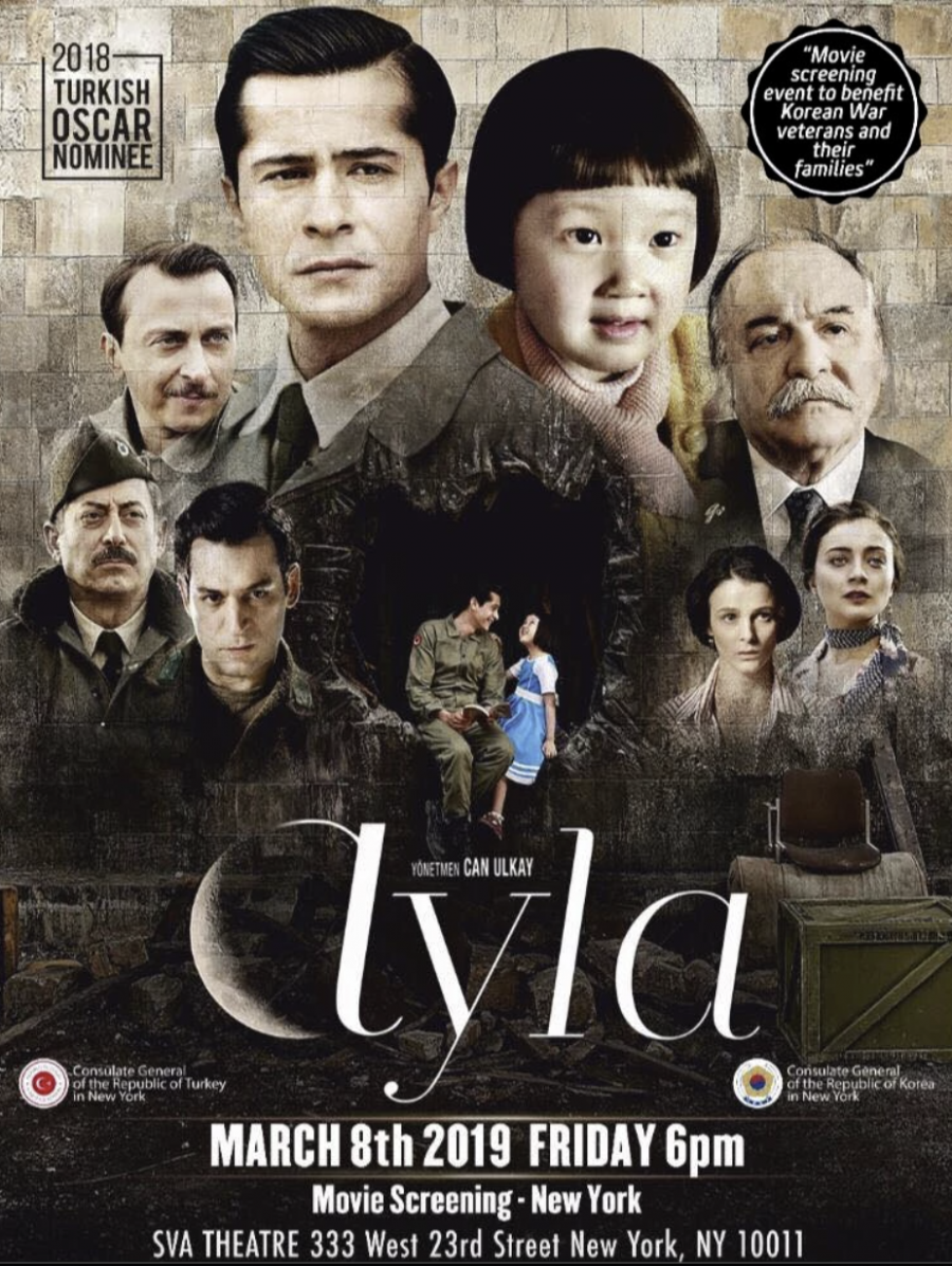 Ayla Daughter of War in NY City