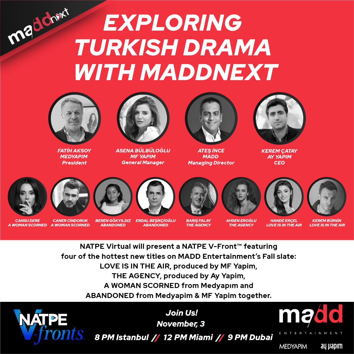 Exploring Turkish Drama With MADDNEXT